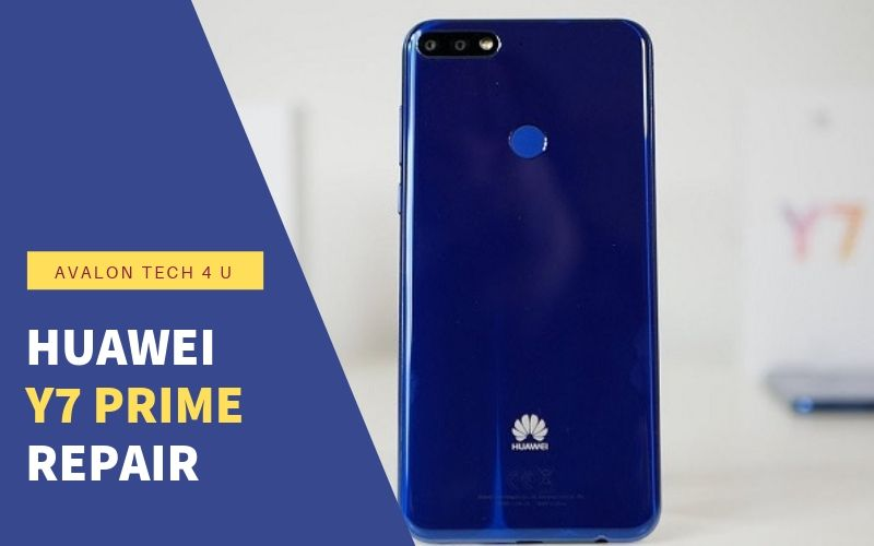 Huawei Y7 prime repair in St John's