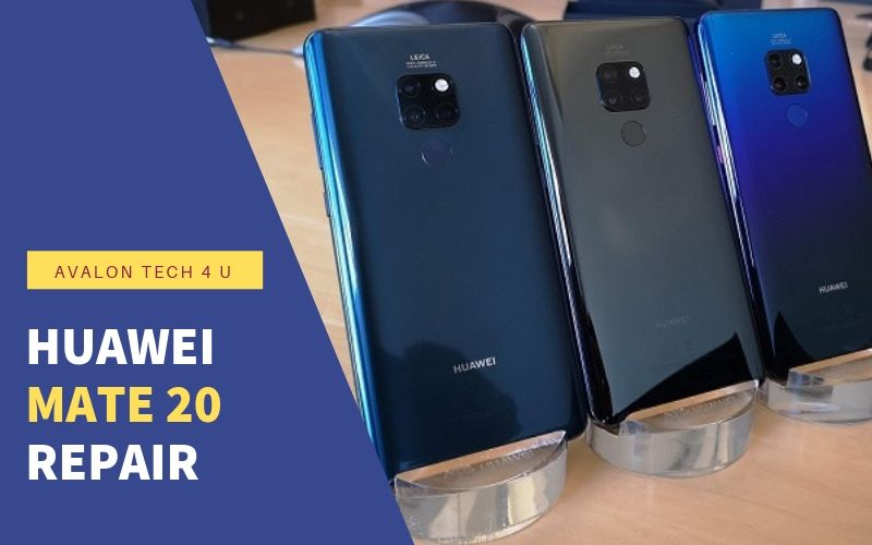 Huawei mate 20 repair service in St John's